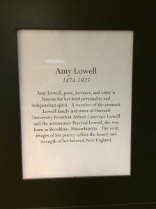 Amy plaque