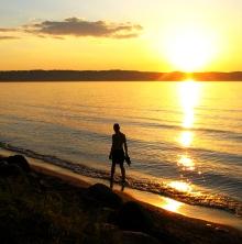 man-at-sunset-beach-1391427