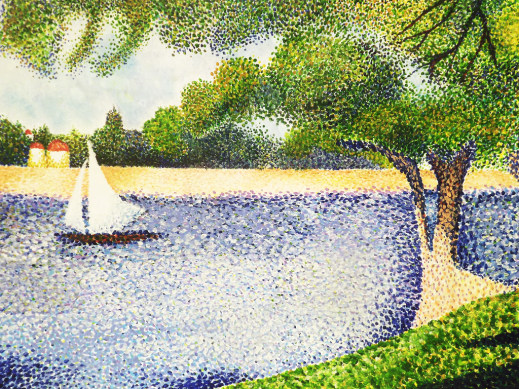 beginning_painting__pointillism_by_nikkinavaille-d5t1z8x