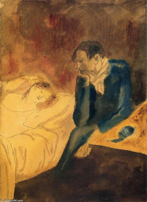 Pablo-Picasso-Sleeping-woman-Meditation-